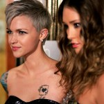 8th Annual ASTRA Awards   Ruby Rose & Erin McNaught