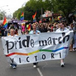 Annual Gay Pride March Held In Melbourne