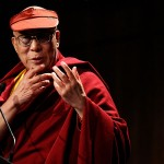 Dalai Lama Attends The Story of the Refugee Luncheon In Melbourne