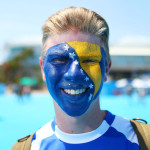 Painted Faces At The Australian Open